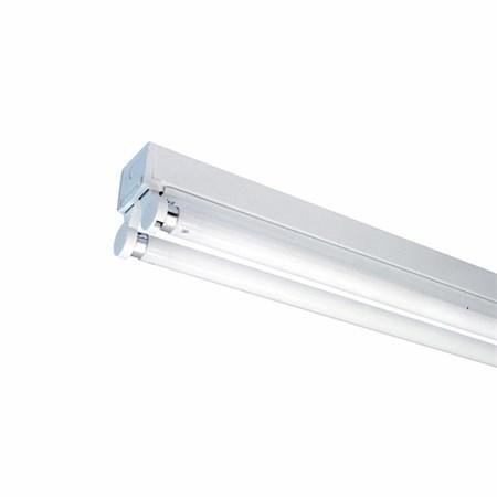 Těleso pro LED trubice 2x150cm bez krytu