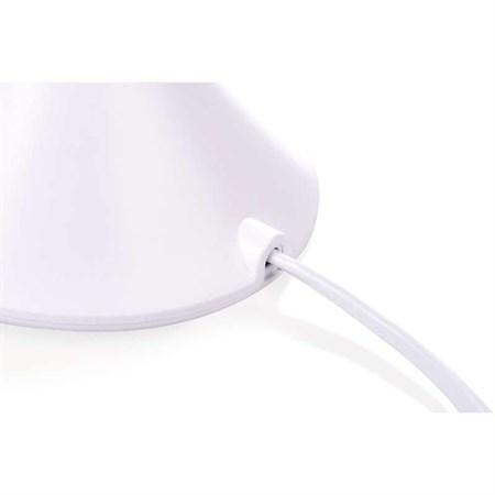 LED stolní lampa Cora, bílá