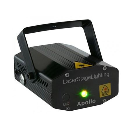 Efekt dvoubarevný laser Multipoint 170 mW RG červená/zelená BeamZ Laser