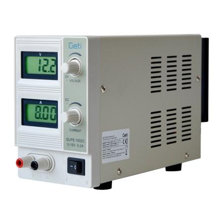 Zdroj laboratorní TIPA  QJ1502C  0-15V/ 0-2A
