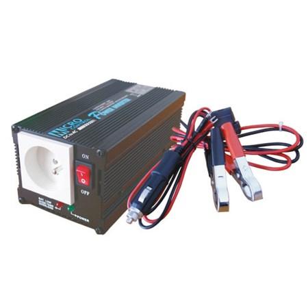 Měnič napětí 12V/230V  300W  CZ