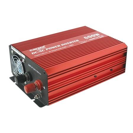 Měnič napětí 12V/230V  600W CZ čistá sinusovka  CARSPA