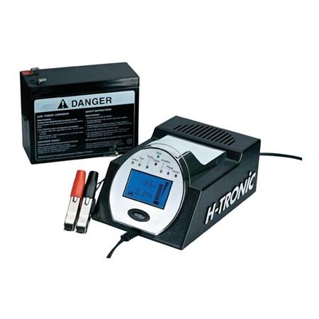 Nabíječka olověných akumulátorů H-Tronic HTDC 5000, 12 V, 5 A