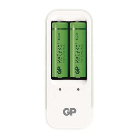 Nabíječka baterií GP PB410 + 2xAA Recyko+ 1300