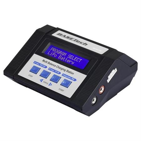 Modelářská multifunkční nabíječka Basetech 100 V, 240 V, 12 V 10 A