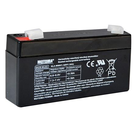 Baterie olověná 6V 1,3Ah MOTOMA