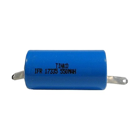 Nabíjecí článek LiFePO4 IFR17335 (RCR123) 3,6V/550mAh