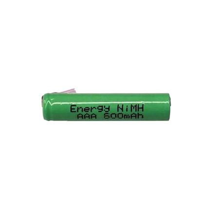 Nabíjecí článek NiMH AAA 1,2V/700mAh pásk.vývody