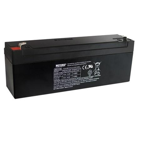 Baterie olověná  12V/ 2,3Ah  MOTOMA bezúdržbový akumulátor
