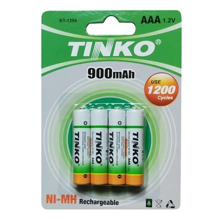 Baterie AAA(R03) nabíjecí TINKO NiMH  900mAh