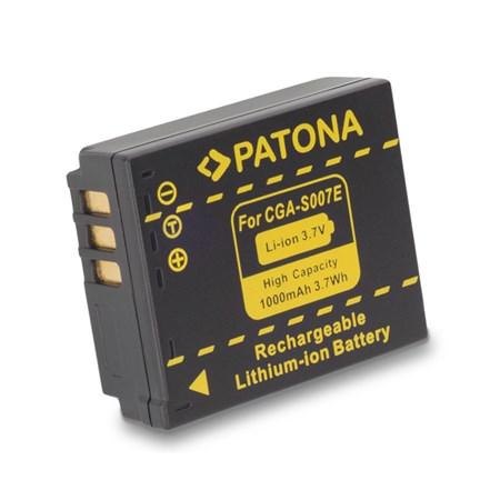 Baterie PANASONIC S007E Li-Ion 1000mAh PATONA PT1043