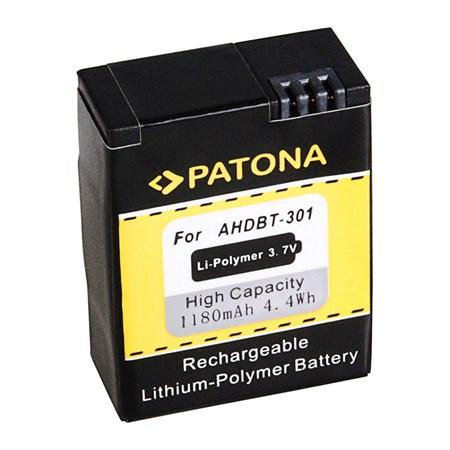 Baterie foto GOPRO HD HERO 3 1180 mAh PATONA PT1150