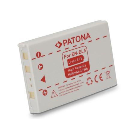 Baterie NIKON EN-EL5 1000mAh PATONA PT1037