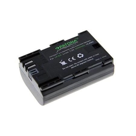 Baterie CANON LP-E6 2000mAh premium PATONA PT1212