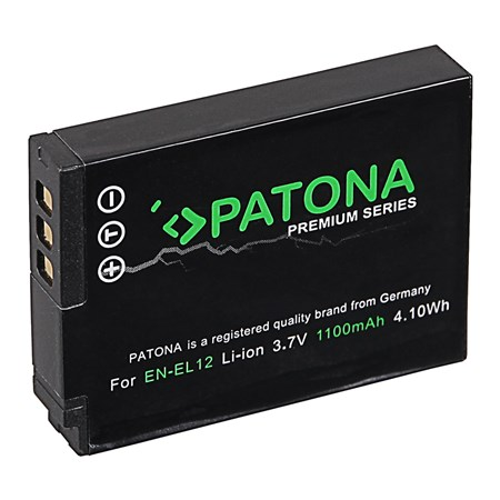 Baterie NIKON EN-EL12 1000mAh premium PATONA PT1168
