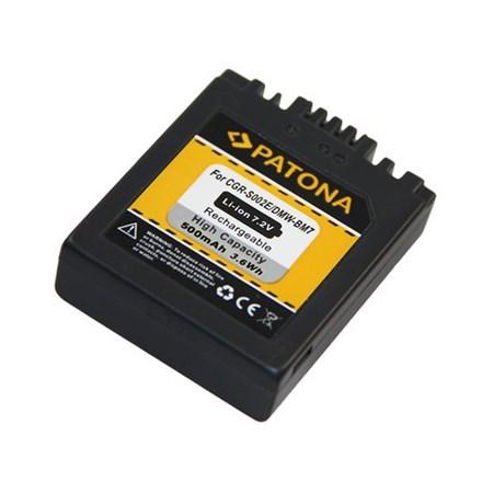 Baterie foto PANASONIC LUMIX BM7 500mAh PATONA PT1027