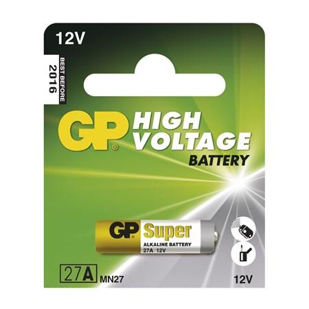 Baterie    27A   alkalická GP