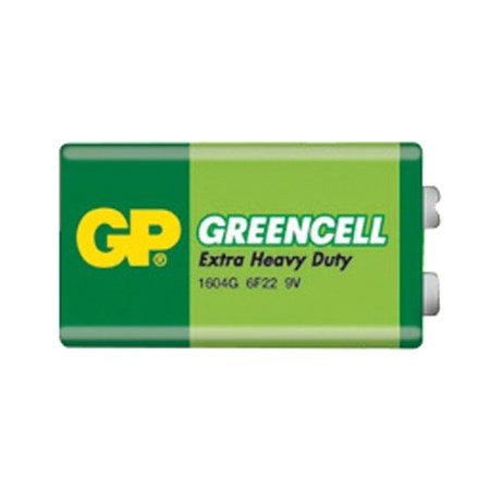 Baterie 6F22 (9V)  Greencell  GP
