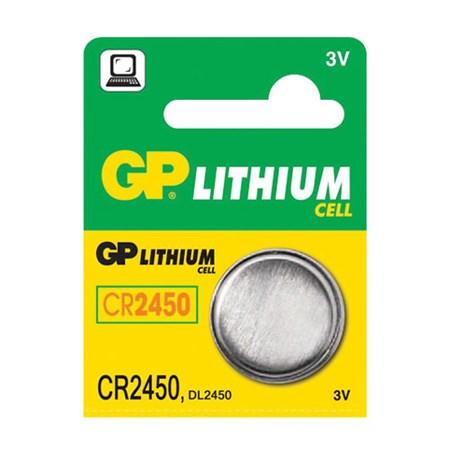 Baterie    CR2450 GP lithiová