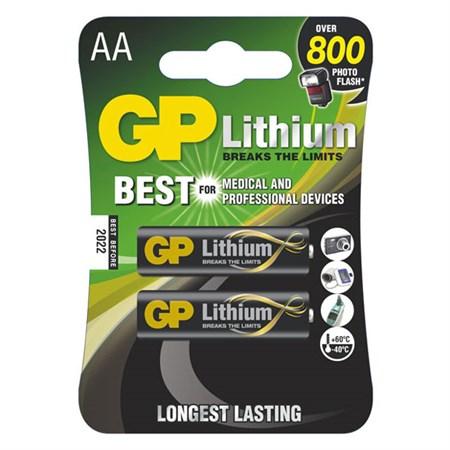 Baterie AA (R6) lithiová  GP