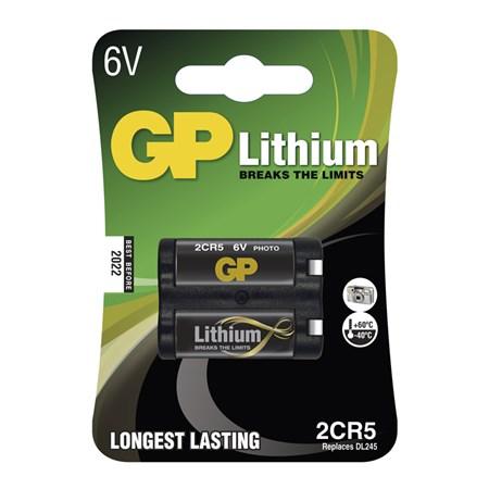 Foto lithiová baterie GP 2CR5