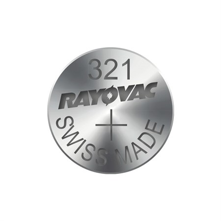 Knoflíková baterie do hodinek RAYOVAC 321