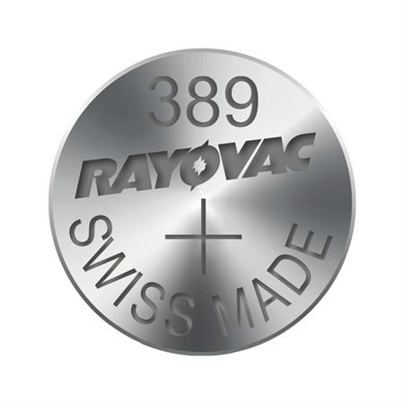 Knoflíková baterie do hodinek RAYOVAC 389