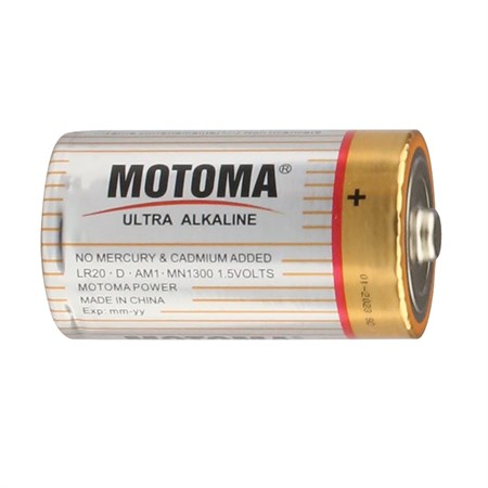 Baterie D (R20) alkalická MOTOMA Ultra Alkaline LR20