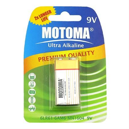 Baterie alkalická 9V MOTOMA