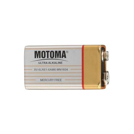 Baterie (9V) alkalická MOTOMA Ultra Alkaline 9V