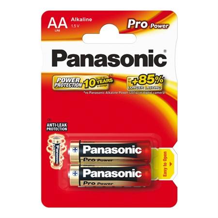 Baterie AA (R6) alkalická PANASONIC Pro Power LR6 2BP