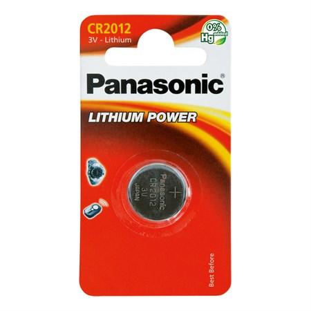 Baterie    CR2012 PANASONIC lithiová 1BP