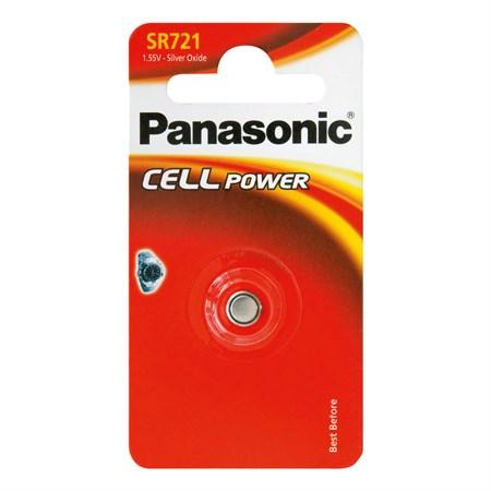 Baterie     362  PANASONIC do hodinek 1bp stříbrooxidová