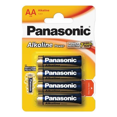 Baterie AA (R6) alkalická PANASONIC Alkaline Power LR6 4BP