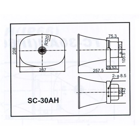 Reproduktor SC-30AH
