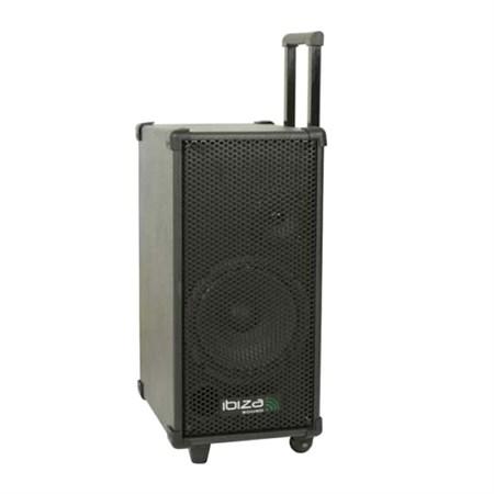 Řečnický systém s karaoke IBIZA PORT8MINI přenosný