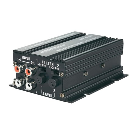 Zesilovač do auta koncový Basetech AP-4012, 372807, 4x 50 W