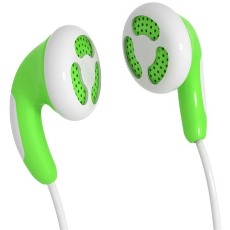 Sluchátka Maxell 303361 Colour Budz Green