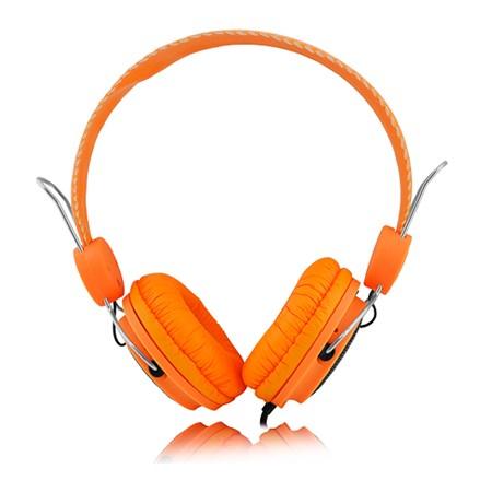 Sluchátka přes hlavu LTC 55 oranžová