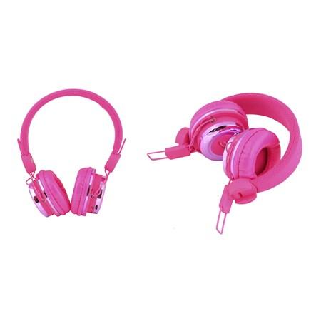 Sluchátka přes hlavu LTC 74 BLUETOOTH růžová