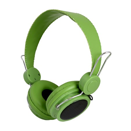 Sluchátka přes hlavu LTC 59 zelená