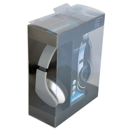 Sluchátka Grundig přes uši skládací šedá