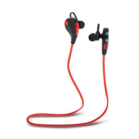 Sluchátka do uší FOREVER BSH-100 BLUETOOTH červená