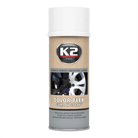 Kaučuk syntetický K2 Color Flex 400ml, bílý