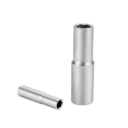 Hlavice nástrčná prodloužená, 1/2'', 16mm, L 77mm, CrV, QUEST