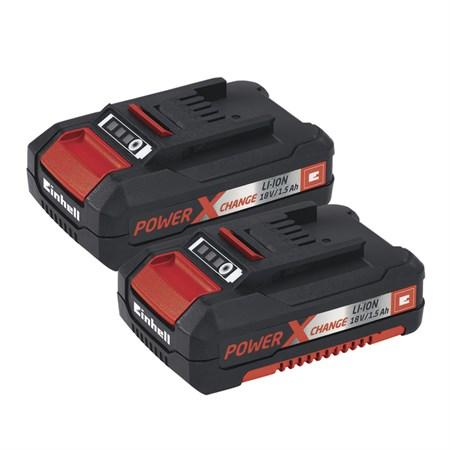 Šroubovák aku TE-CD 18 LI s 2 bateriemi Einhell Expert Plus