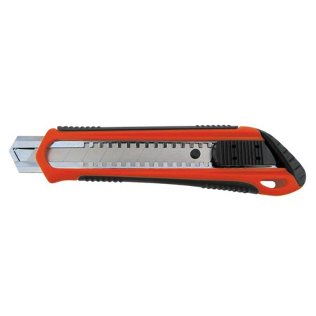 Nůž ulamovací 18mm plastový s kov.výztuhou