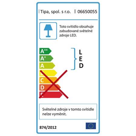Lupa mobilní na kolečkách 5diop. LED (90x) 8066D2