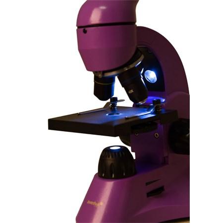 Mikroskop LEVENHUK RAINBOW 50L fialová