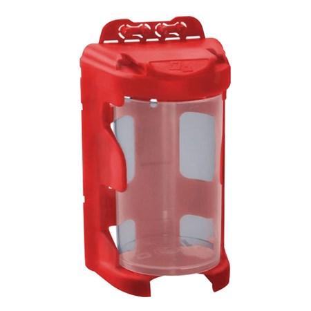 Organizér modulový závěsný - červený, 210ml (60 x 92mm), PP, EXTOL 78915